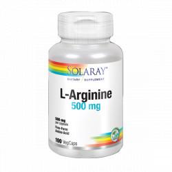 L-Arginine 500 mg. 100 capsulas
