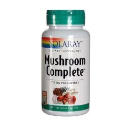 Mushroom Complete Defensas Solaray 60 Cápsulas