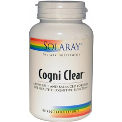 Cogni Clear Solaray 90 Cápsulas