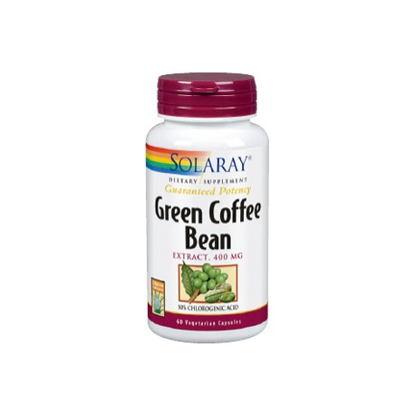 GREEN COFFEE EXTRACT 400MG SOLARAY 60 CAPSULAS