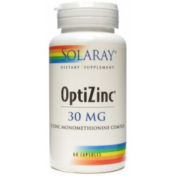 Optizinc 30 mg ZN+B6 60 capsulas