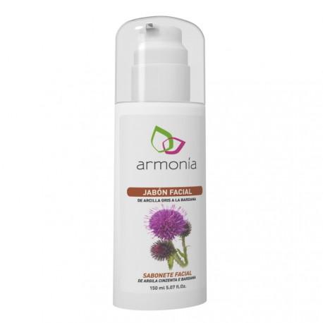 Jabón Facial de Arcilla Gris Armonía 150 Ml