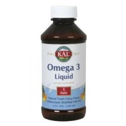 Omega 3 Líquido Sabor Limón 120 ml Kal