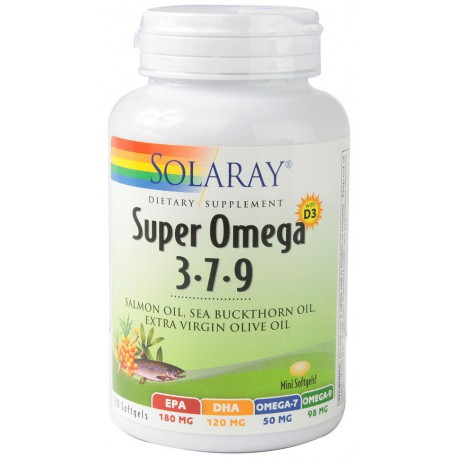 Omega 3-7-9 (120 cápsulas)