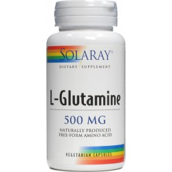 L-Glutamine Intestino Solaray 500 mg