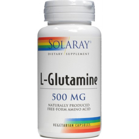 Solaray L-Glutamina 500 mg