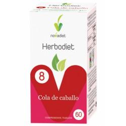 Herbodiet Cola De Caballo Diuretico Nova Diet 60 Comprimidos