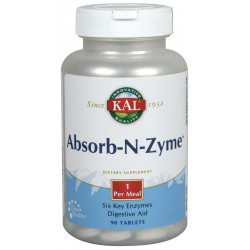 Absorb-N-Zyme 90 comprimidos