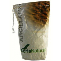 Arcilla Fina 1000 gr Acné Soria Natural
