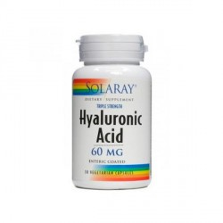 Hyaluronic Acid Artrosis 60 Mg 30 Cápsulas Solaray