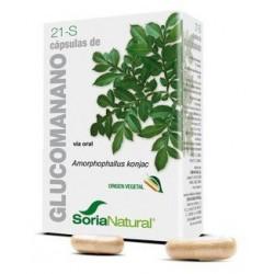Glucomanano 21-S Cápsulas Obesidad Soria Natural