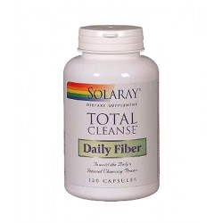 Total Cleanse Daily Fiber Intestino Solaray 120 Cápsulas