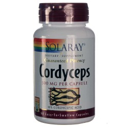 Corfyveps Ext. 500 mg 60 capsulas Solaray