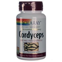 Cordyceps Ext. Defensas Solaray 500 mg 60 Cápsulas