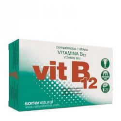 Vitamina B12 Comprimidos Retard Soria Natural