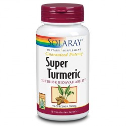 Super Turmeric (Curcuma) Solaray 30 Cápsulas