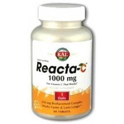Reacta C 1.000 Mg Vitaminas y Minerales 60 Comprimidos