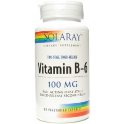 Vitamina B-6 100 Mg Solaray