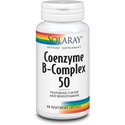 Coenzyme B-Complex 50 Solaray 60 Cápsulas