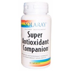 Super Antioxidant Companion Solaray 30 Cápsulas