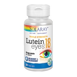 Lutein Eyes Solaray 30 vegetales
