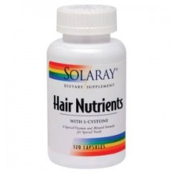 Hair Nutrients Solaray 60 Cápsulas