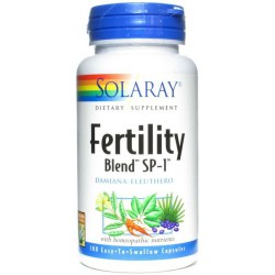 Fertility Blend Solaray 100 Cápsulas.