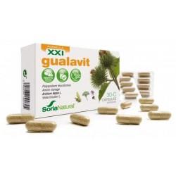 Gualavit 30-C Piel Soria Natural 60 Cápsulas